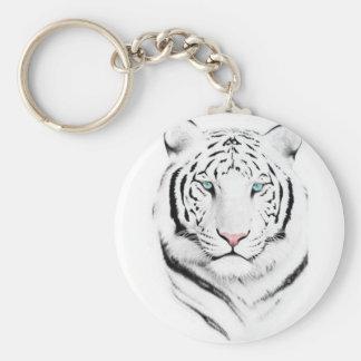 Tigre branco Siberian Chaveiros