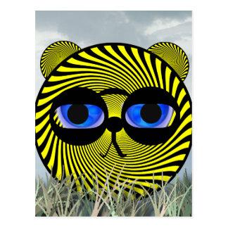 Tigre da promoção cartão postal