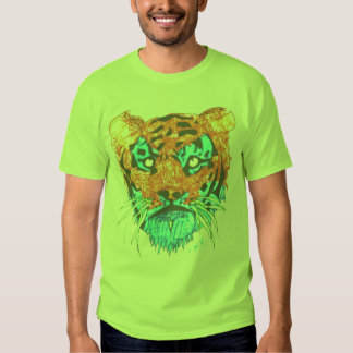 Tigre desvanecido camisetas