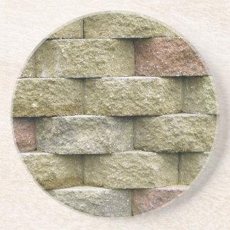 Tijolo, rocha, série de pedra---Porta copos de ped Porta Copos De Arenito