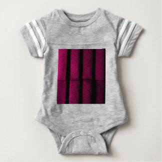 Tijolos roxos body para bebê