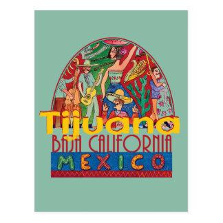 TIJUANA México Cartão Postal