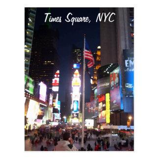 """""""Times Square, Nova Iorque, EUA"""" CricketDiane A Cartão Postal"""