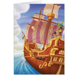 Tinir do tinir pouco cartão do pirata do gnomo