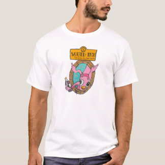 Tinta do calamar camiseta
