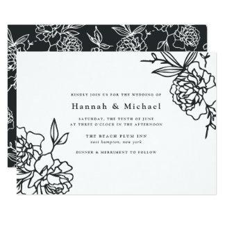 Tinta do convite | do casamento do jardim secreto