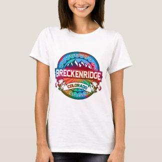 Tintura nova do laço da cidade de Breckenridge Tshirts
