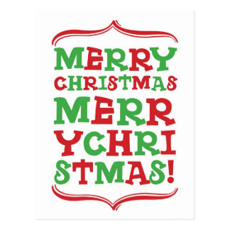 Tipo cartão do Feliz Natal Cartão Postal