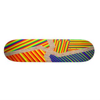 Tipo da plataforma de Borarding do skate: arte do