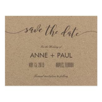 Tipografia & economias do papel de embalagem a cartão postal