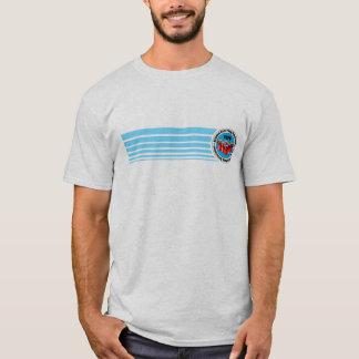Tira azul da associação nacional de Pong da Camiseta