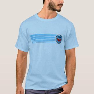 Tira azul da associação nacional de Pong da Camisetas