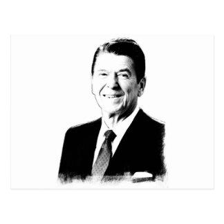 Tiragem de Ronald Reagan Cartão Postal