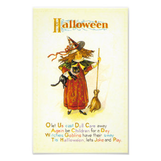 Tis Hallowe'en Impressão De Foto