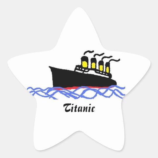 Titanic star adesito estrela