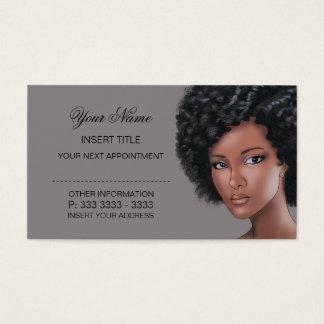 Titânio - nomeação da beleza cartão de visitas
