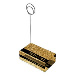 Titular do cartão feito sob encomenda da mesa do suportes para cartões de mesa