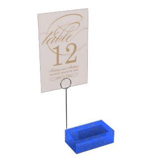 Titulares do cartão da imagem do modelo suportes para cartoes de mesa