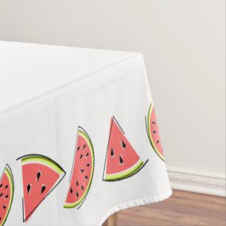 Toalha De Mesa A melancia remenda a beira do tablecloth