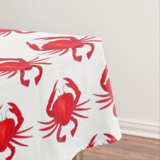 Toalha De Mesa Baltimore Maryland Shell duro vermelho Crab o