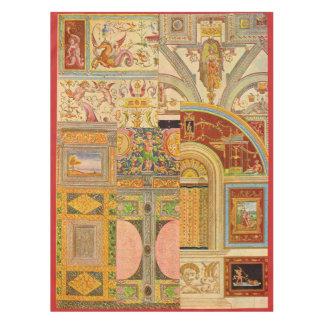 Toalha De Mesa colagem italiana barroco dos motivos