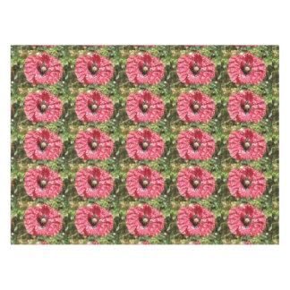Toalha De Mesa Tablecloth vermelho bonito do macro da flor da