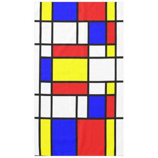 Toalha De Mesa Teste padrão colorido do estilo da arte de
