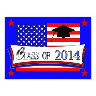 Toda a classe americana dos convites 2014 da