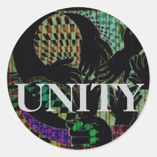 Toda a etiqueta da unidade da diversidade da acção