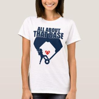 Toda sobre esse baixo (design do marinho) camiseta