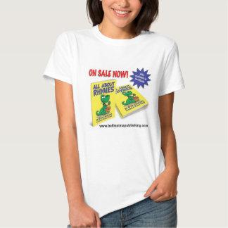 Toda sobre rimas camiseta