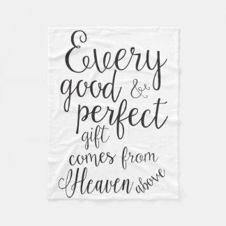 Todas as boas coisas vêm do céu acima