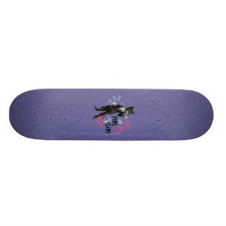 Todas as patas nenhumas garras (cor) shape de skate 21,6cm