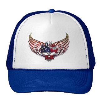 Todo o chapéu tribal americano das asas boné