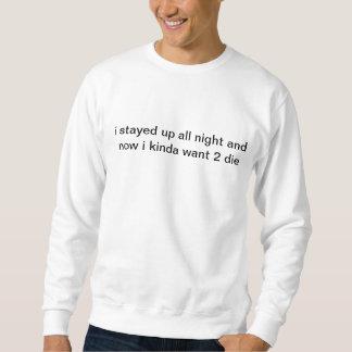 todo o nighter suéter