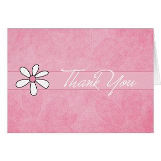 Todo o obrigado que da ocasião você nota cartão comemorativo