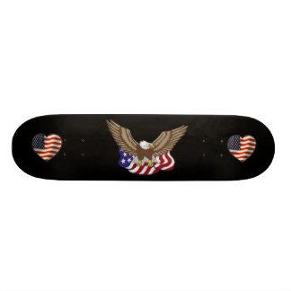 """Todo o patinador americano - 7 3/4"""" skate da plata"""