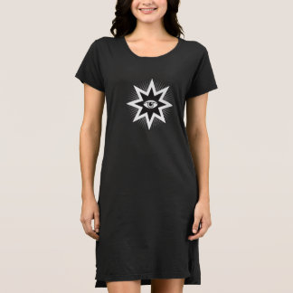 Todo Seeing Eye alpargata Dress Camisetas