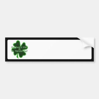 Todos irlandês no Dia de São Patrício Adesivos