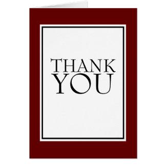 Todos ocasionam cartões de agradecimentos simples