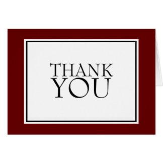 Todos ocasionam os cartões de agradecimentos simpl