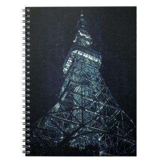 Tokyo Tower Cadernos Espirais