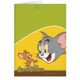 Tom e Jerry Cartão Comemorativo