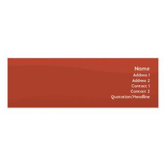 Tomatowave - magro cartão de visita skinny