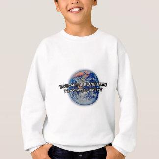 Tome da terra do planeta! camisetas