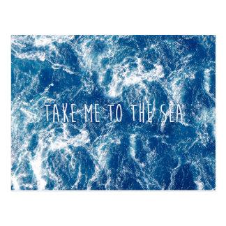 Tome-me ao mar cartão postal