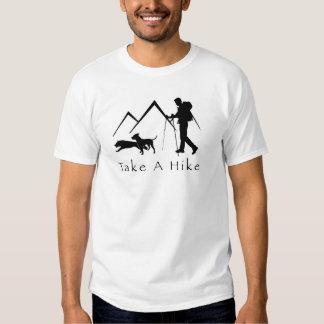 Tome uma Camisa-Pitbull da caminhada Tshirts