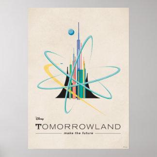 Tomorrowland: Faça o futuro Pôster