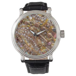Tons naturais da terra do relógio, impressão da relógios