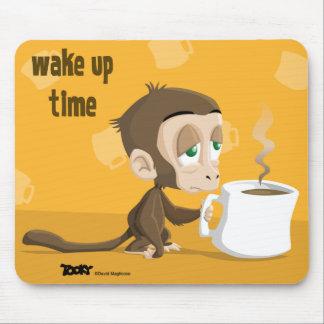 Tooky acorda o tempo Mousepad
